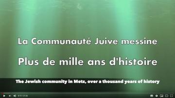 Michel Gerstenhaber : La communauté juive messine, plus de 1000 ans d'histoire